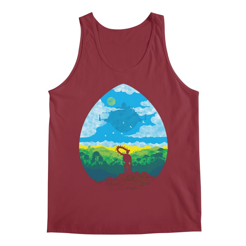 Mystical City Men's Regular Tank by Daletheskater