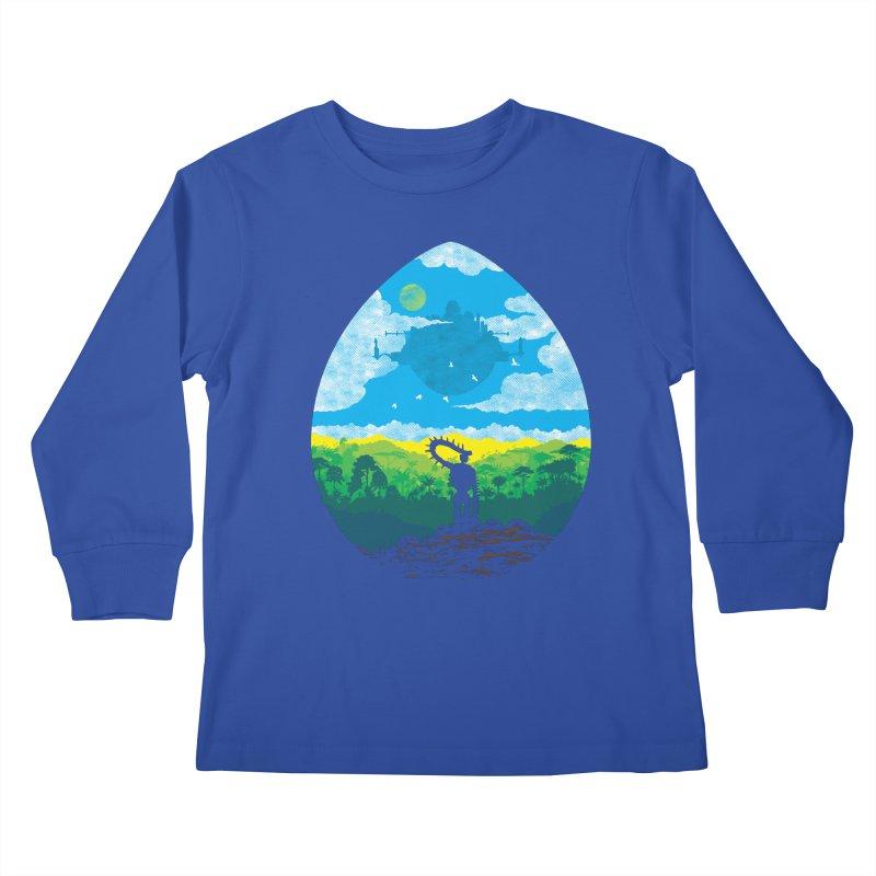 Mystical City Kids Longsleeve T-Shirt by Daletheskater