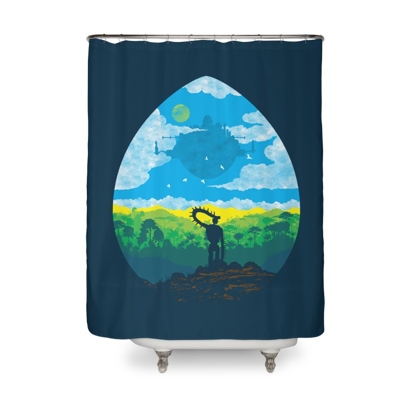 Mystical City Home Shower Curtain by Daletheskater