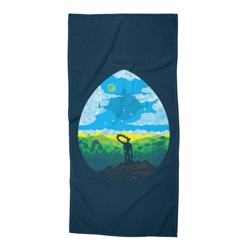 Mystical City Accessories Beach Towel by Daletheskater