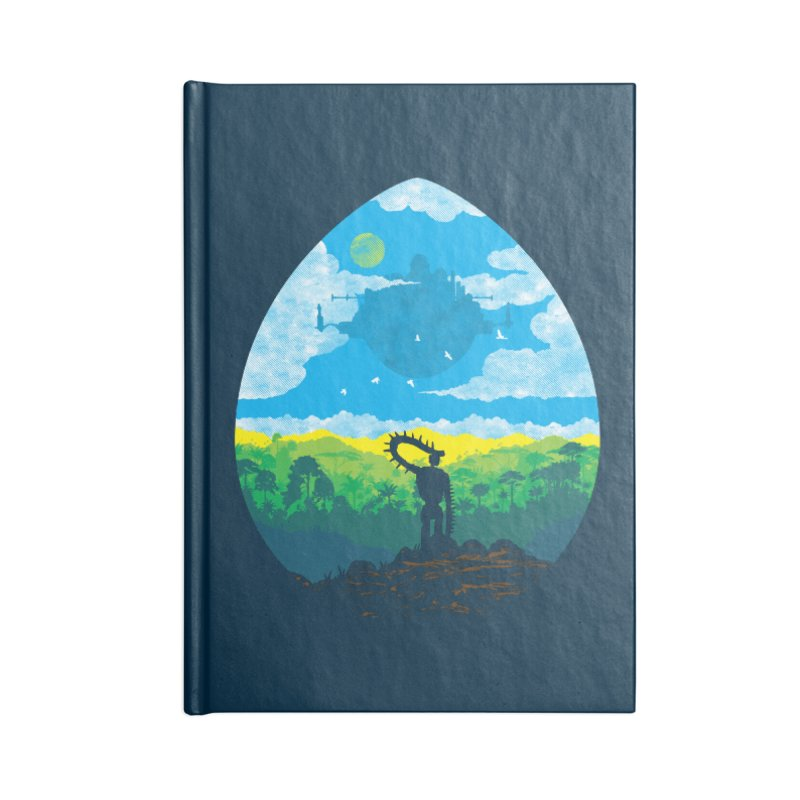 Mystical City Accessories Blank Journal Notebook by Daletheskater