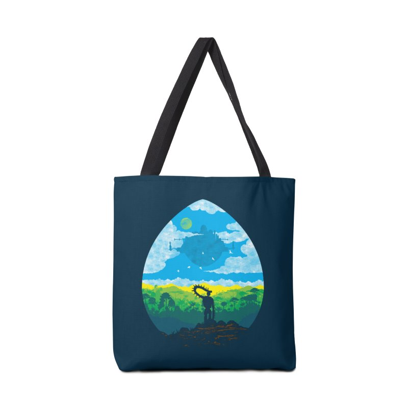 Mystical City Accessories Tote Bag Bag by Daletheskater