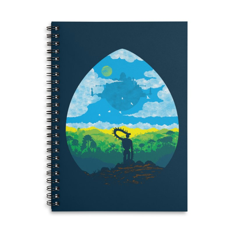 Mystical City Accessories Lined Spiral Notebook by Daletheskater