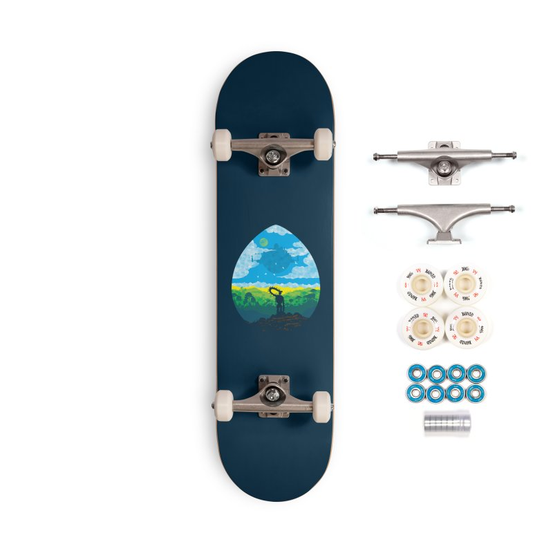 Mystical City Accessories Complete - Premium Skateboard by Daletheskater