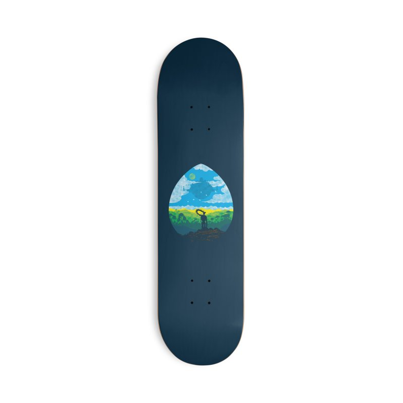 Mystical City Accessories Deck Only Skateboard by Daletheskater