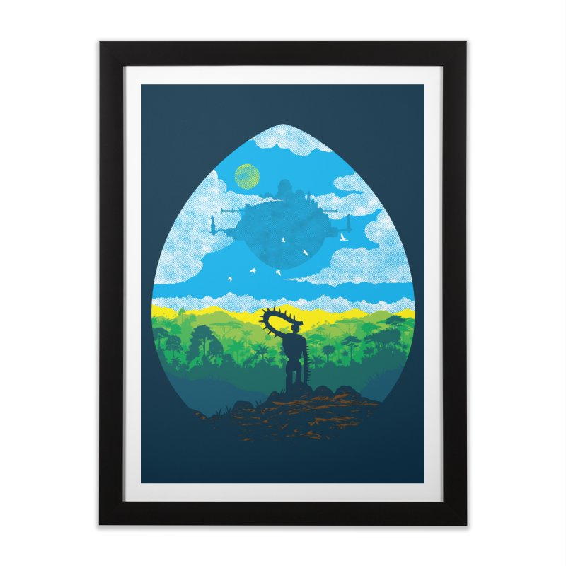 Mystical City Home Framed Fine Art Print by Daletheskater