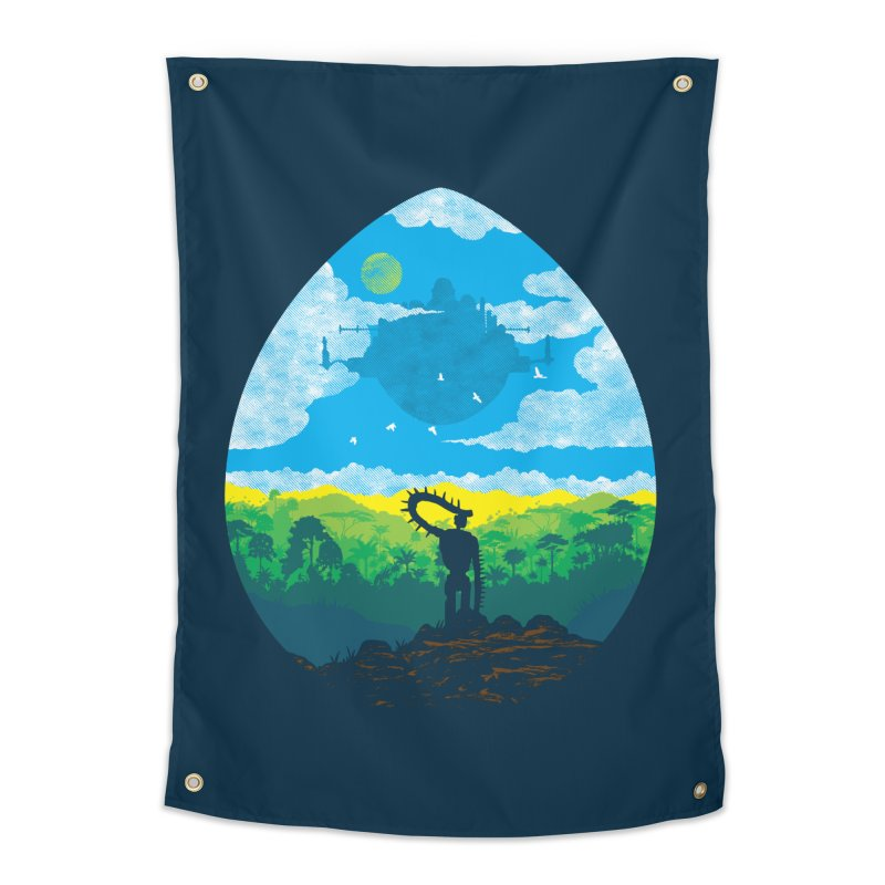 Mystical City Home Tapestry by Daletheskater