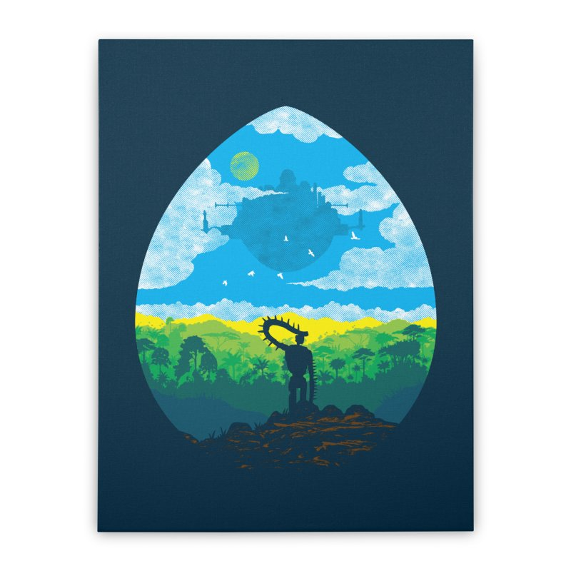 Mystical City Home Stretched Canvas by Daletheskater