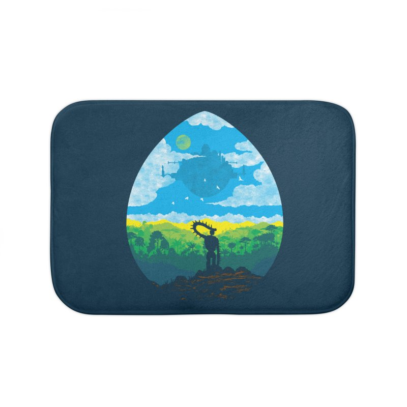 Mystical City Home Bath Mat by Daletheskater