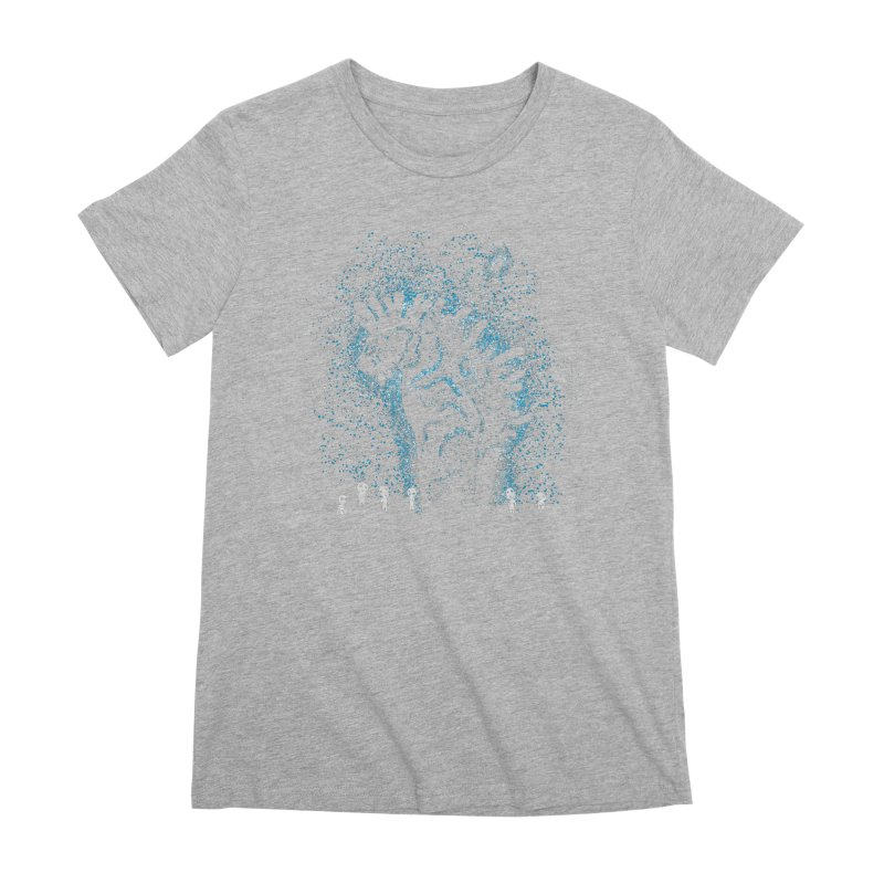 Spirits In The Night Women's Premium T-Shirt by Daletheskater
