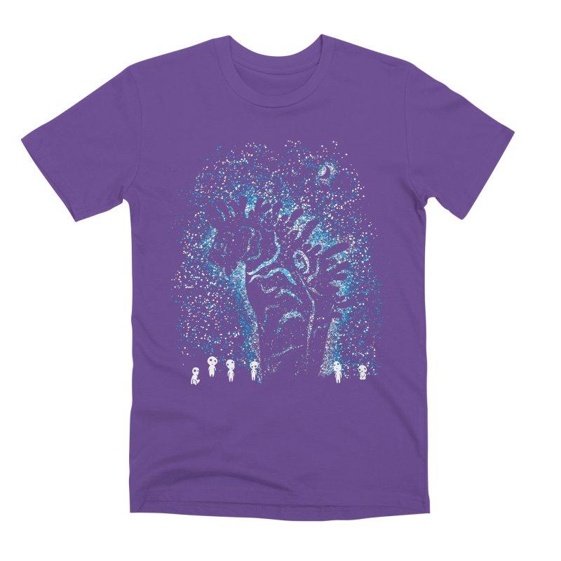 Spirits In The Night Men's Premium T-Shirt by Daletheskater