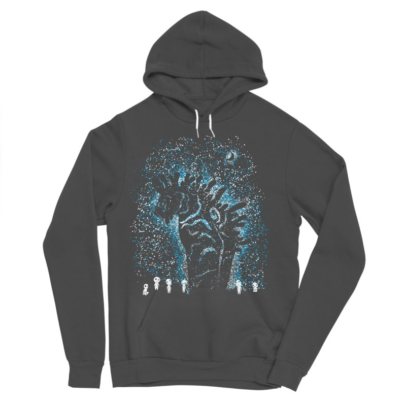 Spirits In The Night Women's Sponge Fleece Pullover Hoody by Daletheskater