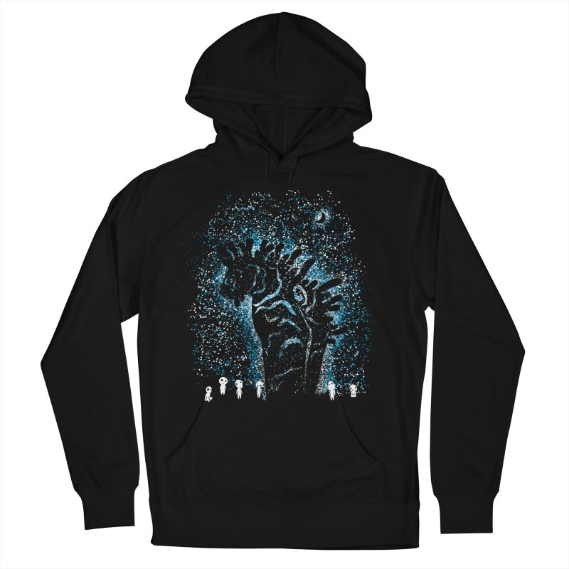 Spirits In The Night Women's French Terry Pullover Hoody by Daletheskater