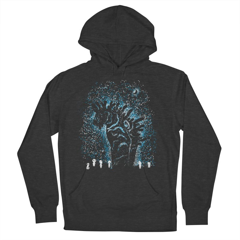 Spirits In The Night Men's French Terry Pullover Hoody by Daletheskater