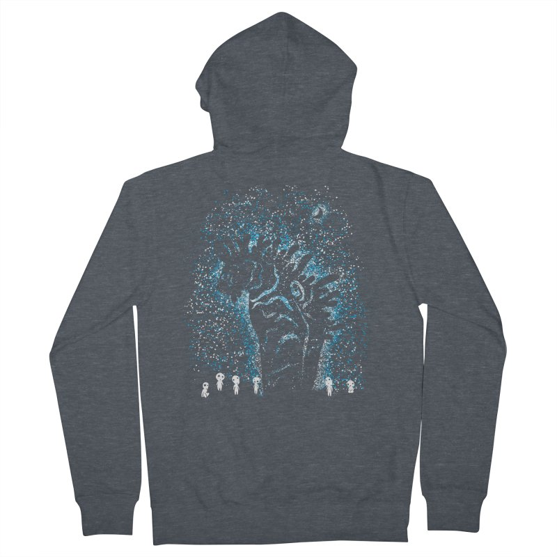 Spirits In The Night Women's French Terry Zip-Up Hoody by Daletheskater