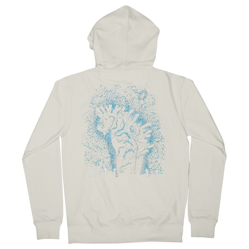 Spirits In The Night Men's French Terry Zip-Up Hoody by Daletheskater