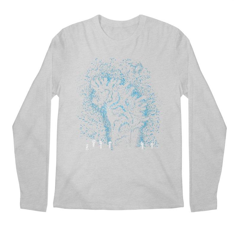 Spirits In The Night Men's Regular Longsleeve T-Shirt by Daletheskater