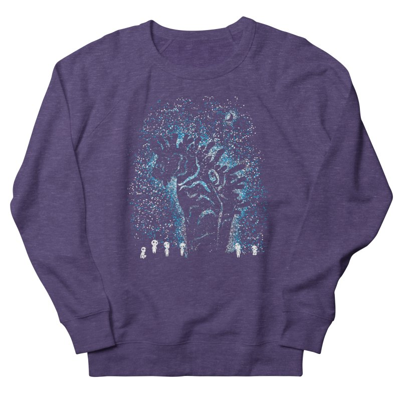 Spirits In The Night Women's French Terry Sweatshirt by Daletheskater