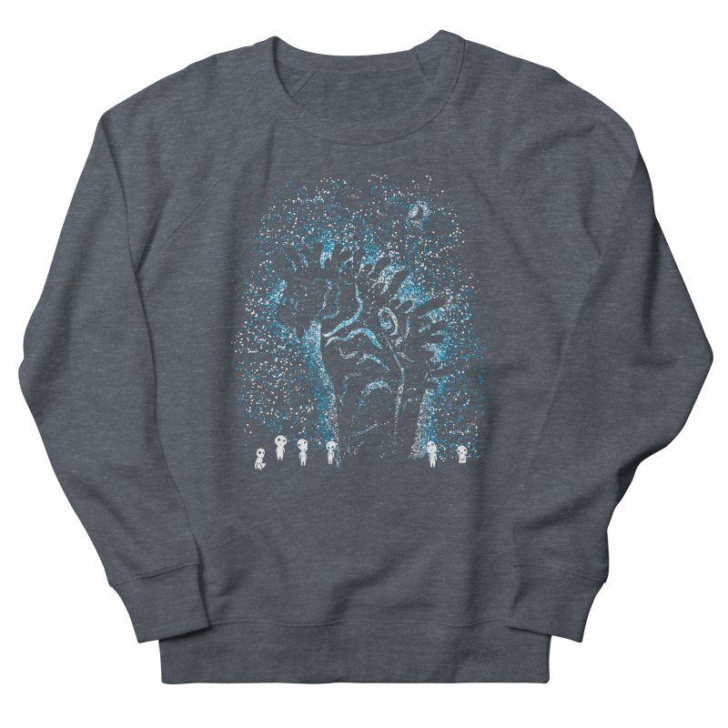 Spirits In The Night Men's French Terry Sweatshirt by Daletheskater