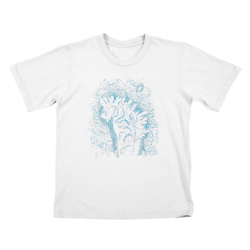 Spirits In The Night Kids T-Shirt by Daletheskater