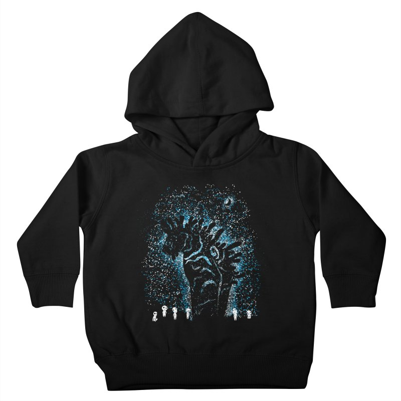 Spirits In The Night Kids Toddler Pullover Hoody by Daletheskater