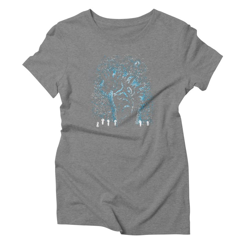 Spirits In The Night Women's Triblend T-Shirt by Daletheskater