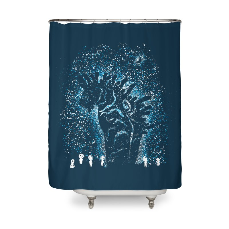 Spirits In The Night Home Shower Curtain by Daletheskater