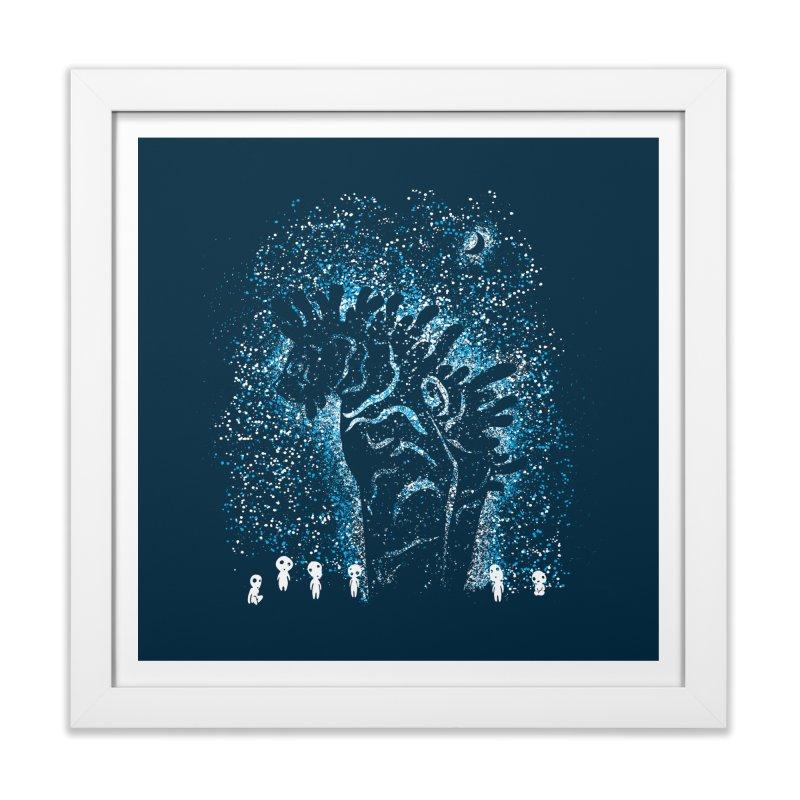 Spirits In The Night Home Framed Fine Art Print by Daletheskater