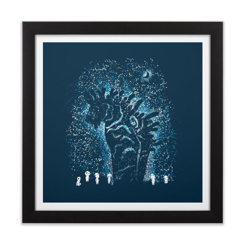 Spirits In The Night Home Framed Fine Art Print by Daletheskater