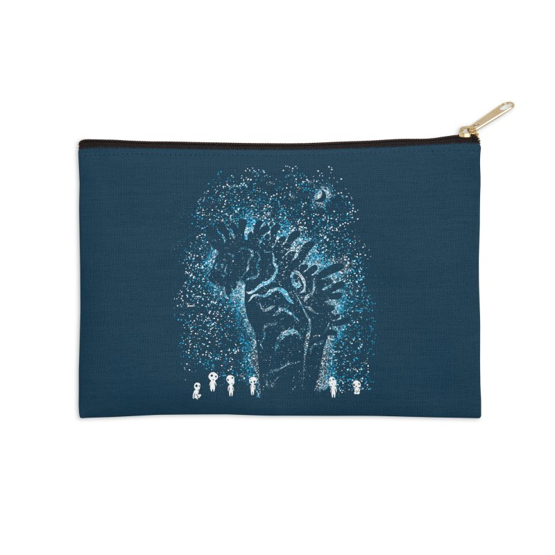 Spirits In The Night Accessories Zip Pouch by Daletheskater