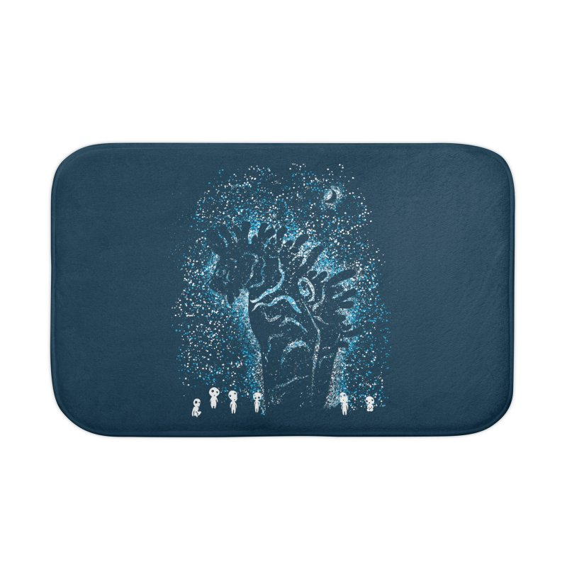 Spirits In The Night Home Bath Mat by Daletheskater