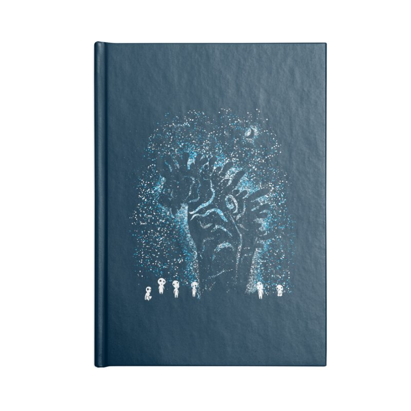 Spirits In The Night Accessories Lined Journal Notebook by Daletheskater