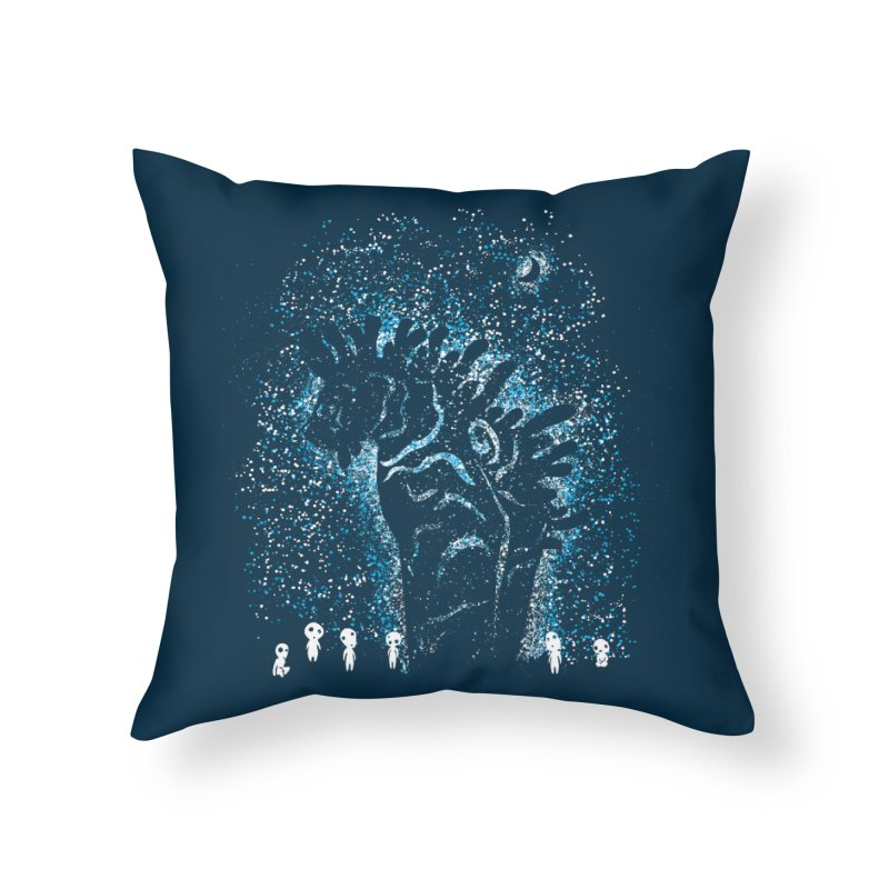 Spirits In The Night Home Throw Pillow by Daletheskater