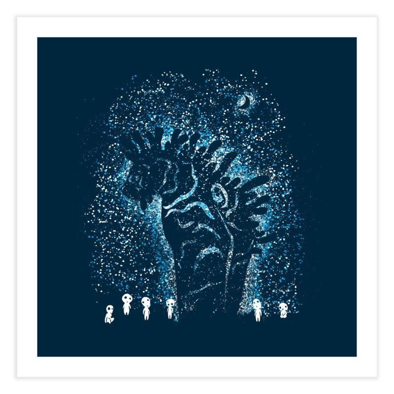 Spirits In The Night Home Fine Art Print by Daletheskater