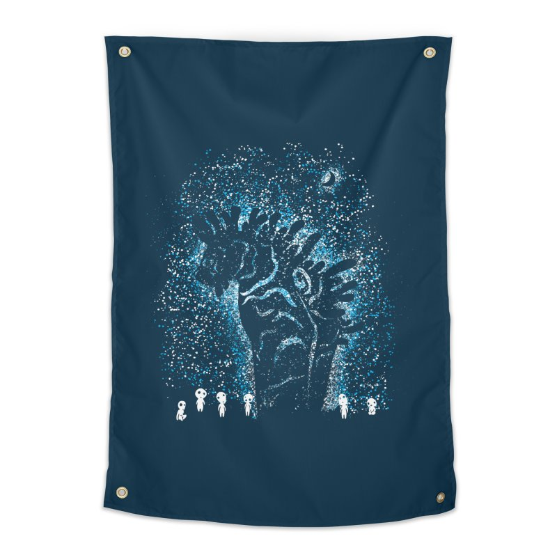 Spirits In The Night Home Tapestry by Daletheskater
