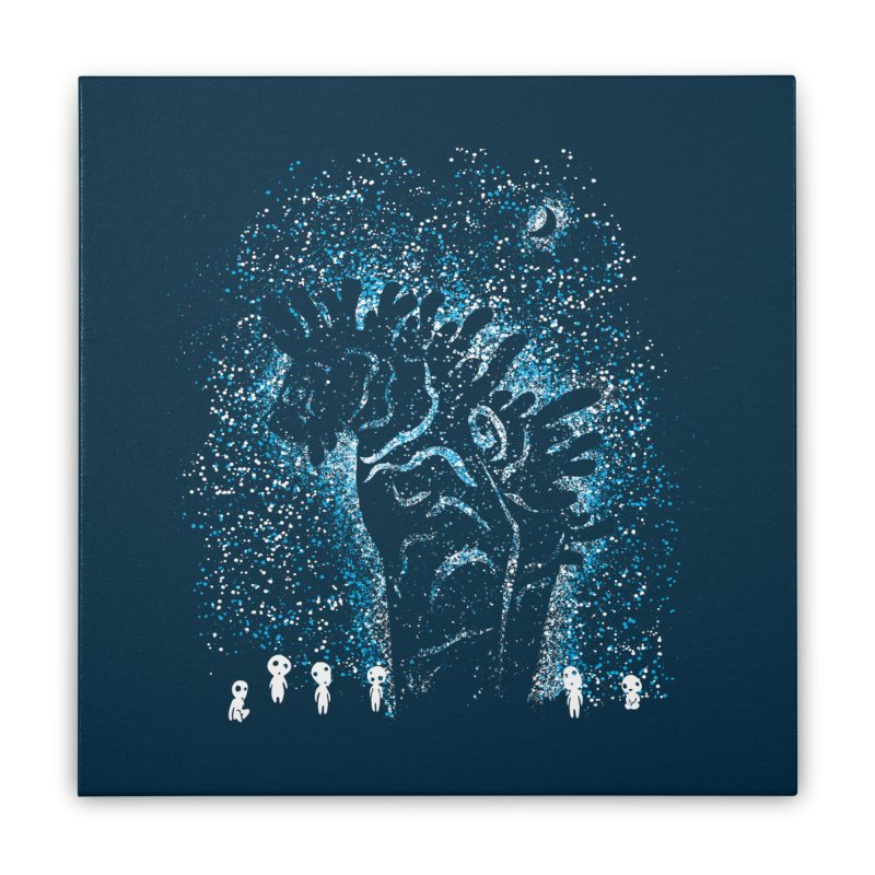 Spirits In The Night Home Stretched Canvas by Daletheskater