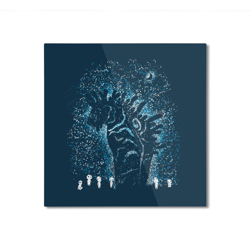 Spirits In The Night Home Mounted Aluminum Print by Daletheskater