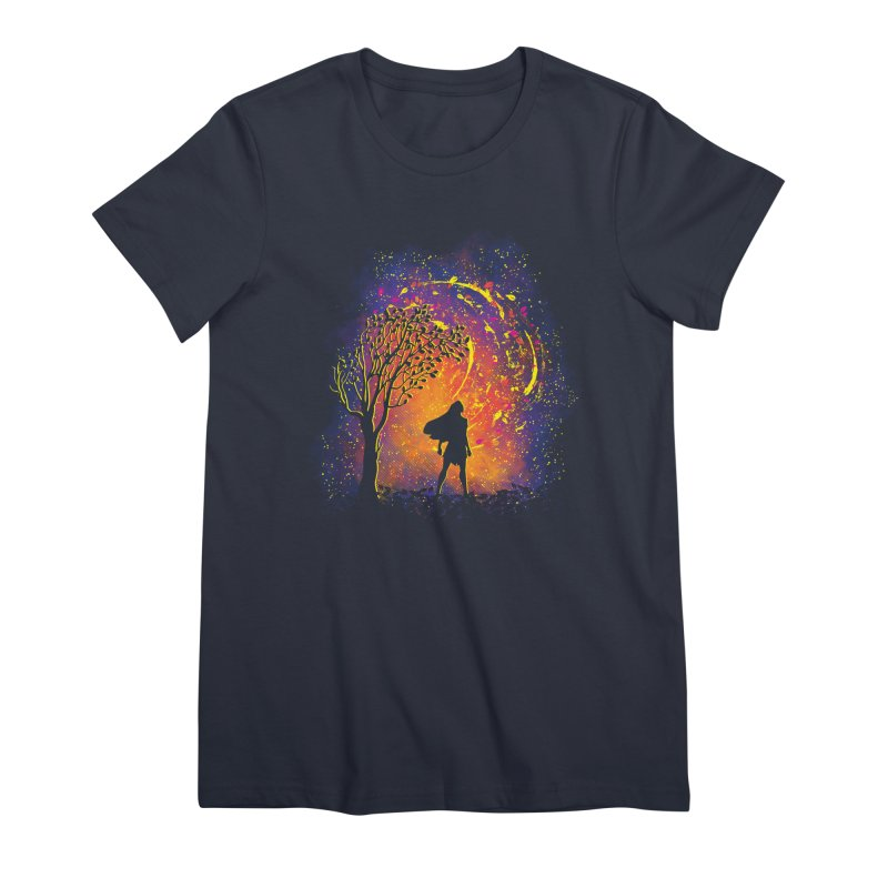 Colours Of The Wind Women's Premium T-Shirt by Daletheskater