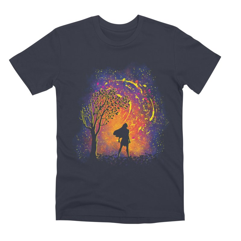 Colours Of The Wind Men's Premium T-Shirt by Daletheskater