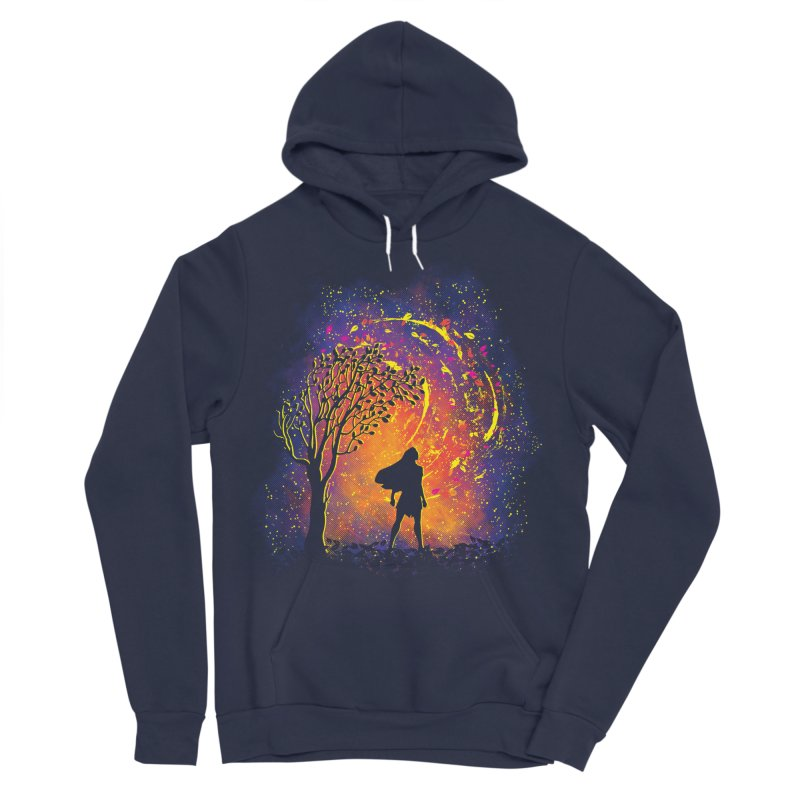 Colours Of The Wind Women's Sponge Fleece Pullover Hoody by Daletheskater