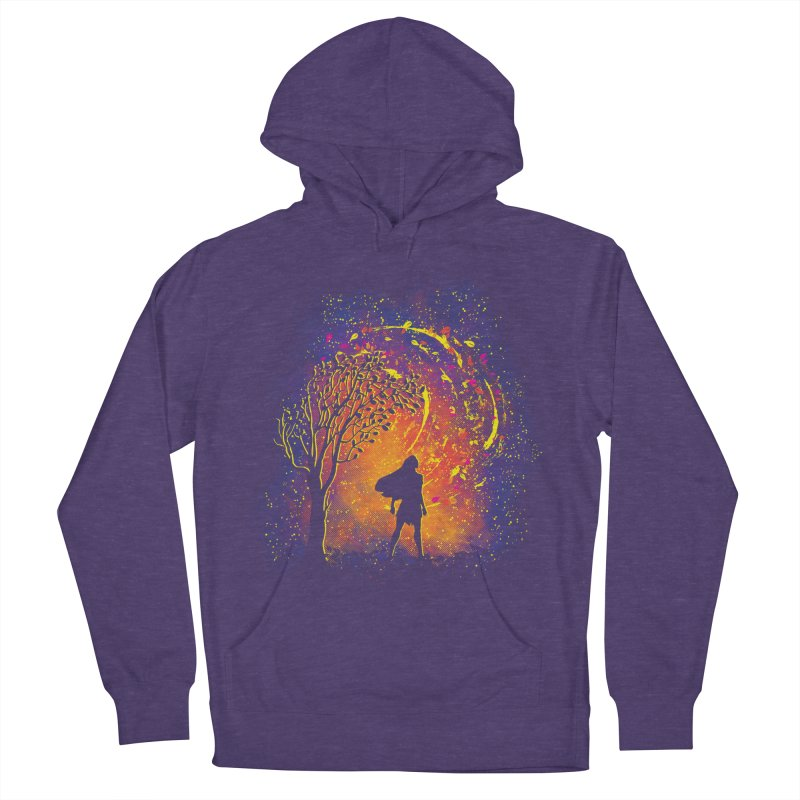 Colours Of The Wind Men's French Terry Pullover Hoody by Daletheskater