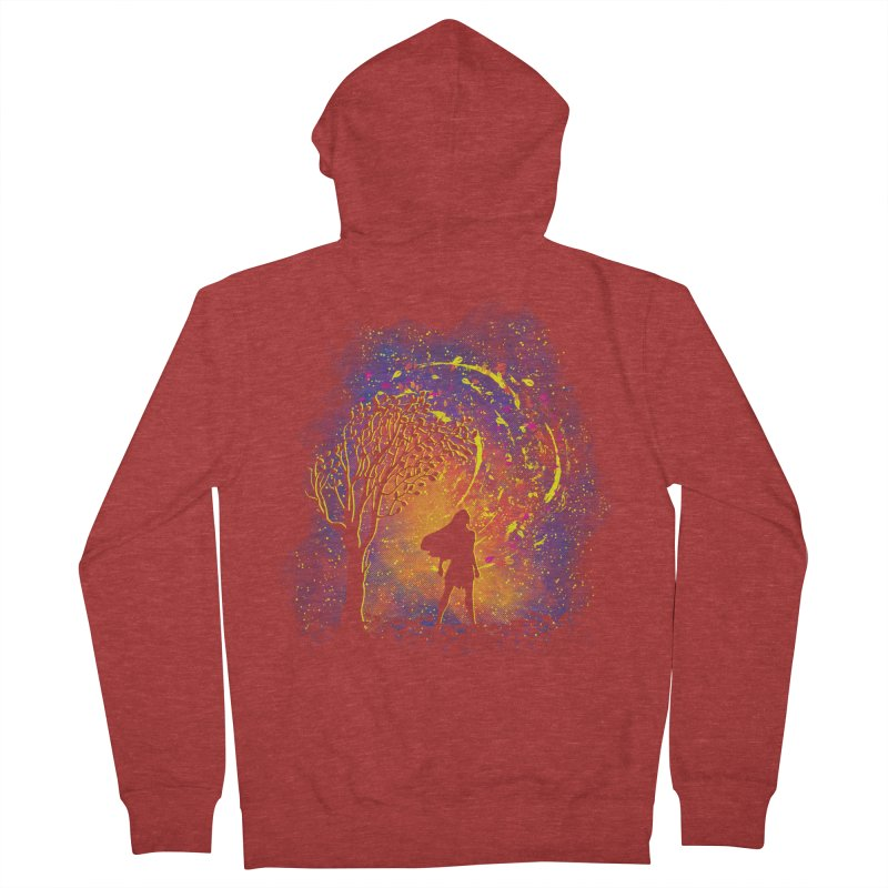 Colours Of The Wind Women's French Terry Zip-Up Hoody by Daletheskater