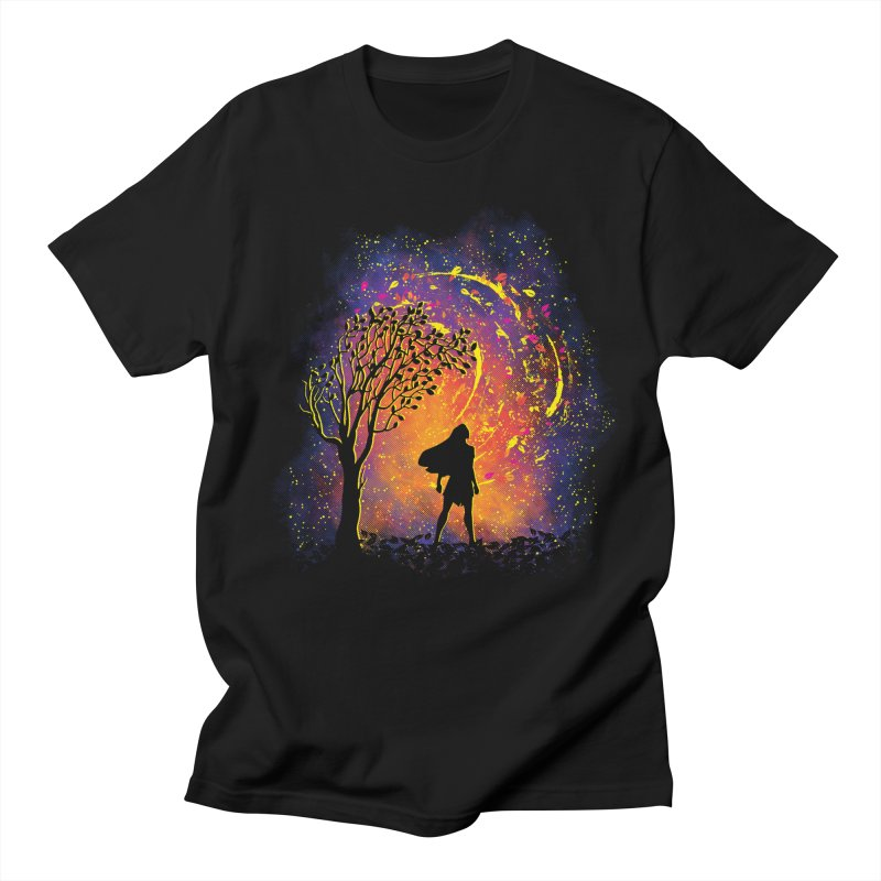 Colours Of The Wind Men's Regular T-Shirt by Daletheskater