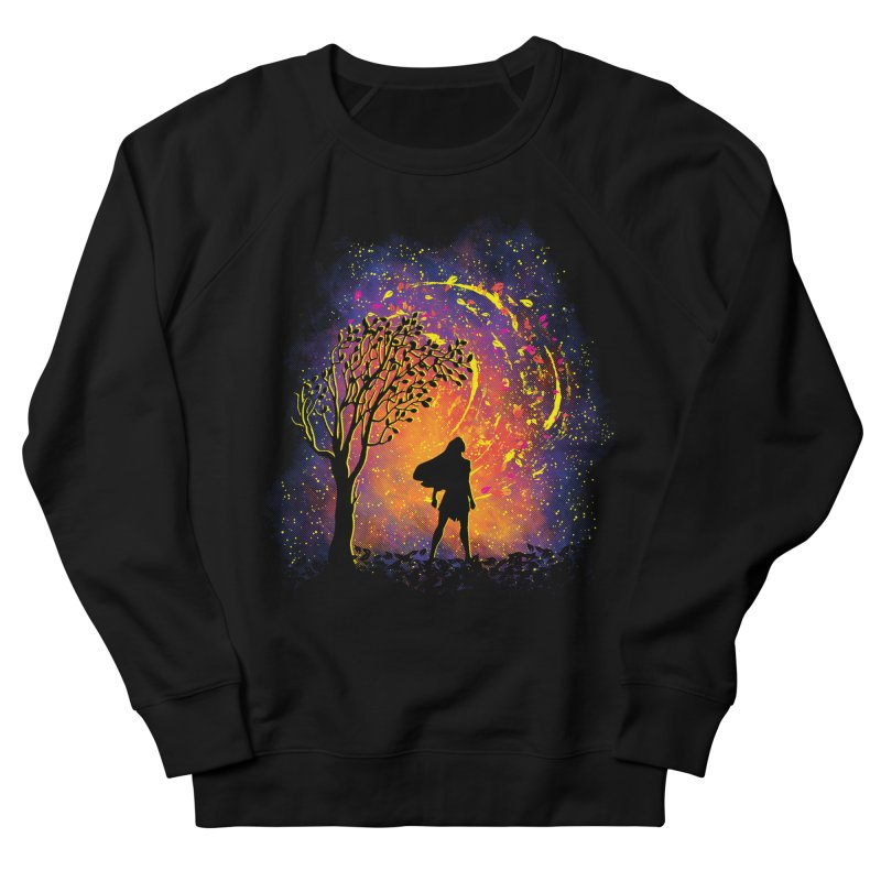 Colours Of The Wind Men's French Terry Sweatshirt by Daletheskater