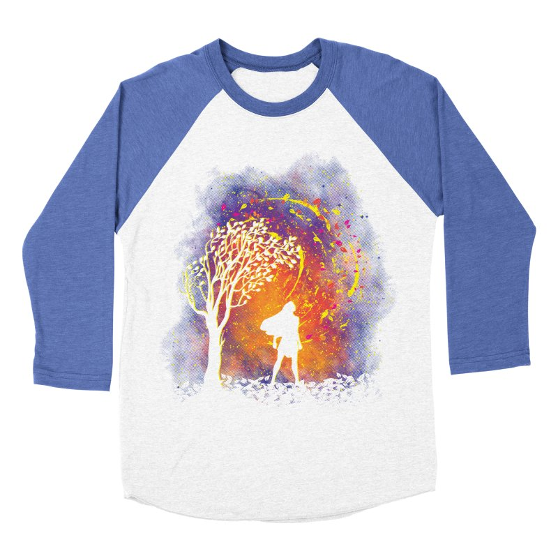 Colours Of The Wind Women's Baseball Triblend Longsleeve T-Shirt by Daletheskater