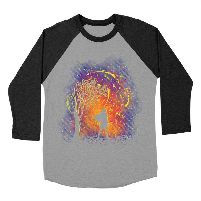Colours Of The Wind Men's Baseball Triblend Longsleeve T-Shirt by Daletheskater