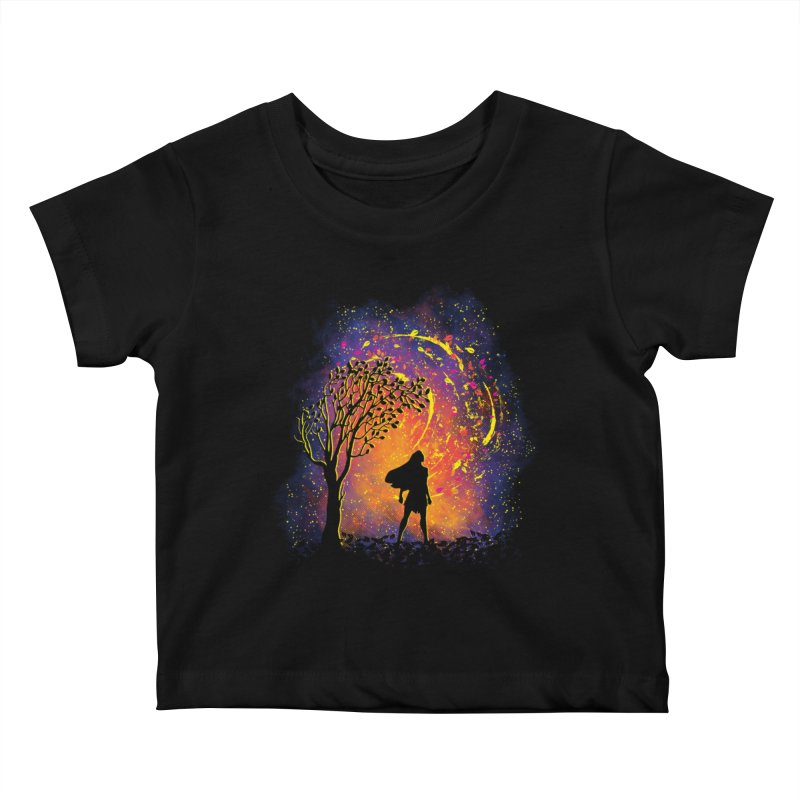 Colours Of The Wind Kids Baby T-Shirt by Daletheskater