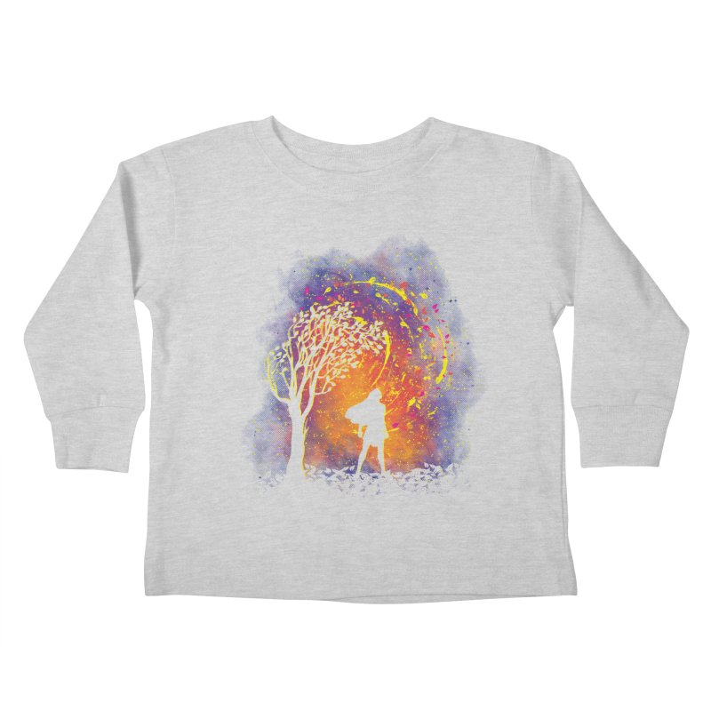 Colours Of The Wind Kids Toddler Longsleeve T-Shirt by Daletheskater