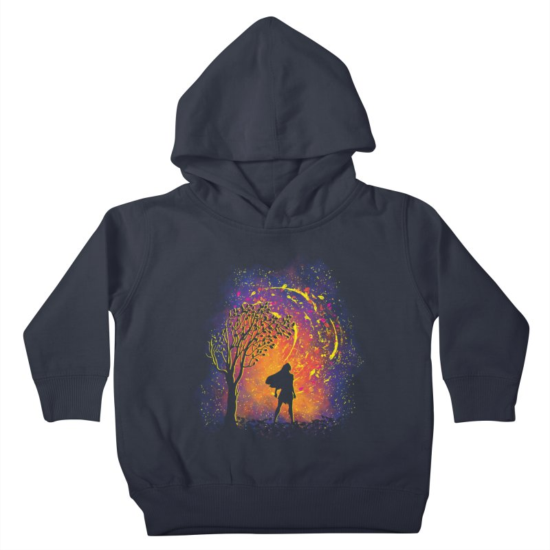 Colours Of The Wind Kids Toddler Pullover Hoody by Daletheskater
