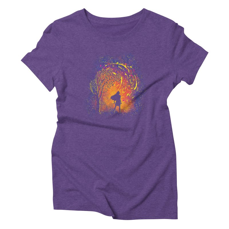 Colours Of The Wind Women's Triblend T-Shirt by Daletheskater